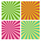 Tunnel vortex in multiple color stripe pattern. Tunnel vortex in multiple colors stripe pattern Stock Image