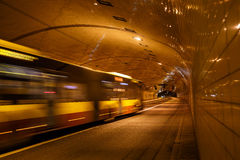 Tunnel in Warsaw Royalty Free Stock Photography