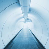 Tunnel the way go out to success business royalty free stock photos