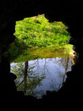 Tunnelansicht Stockfoto