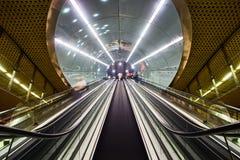 tunnelbana Arkivfoto