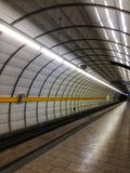 tunnelbana Fotografering för Bildbyråer
