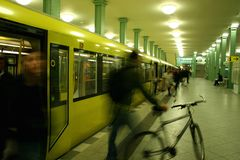 tunnelbana Royaltyfri Fotografi