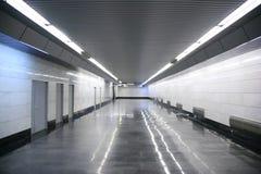 tunnelbana för korridor s fotografering för bildbyråer