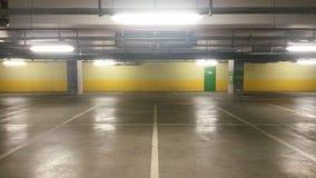 tunnelbana för parkering för färgcontrasteffekt Royaltyfria Bilder