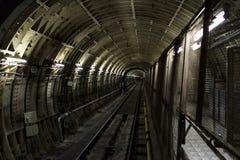 Tunnelbana gångtunnel Arkivfoton