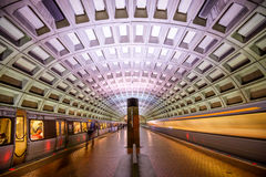 Tunnelbana i DC Royaltyfria Foton