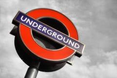 Tunnelbana i London Arkivbild
