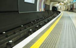 Tunnelbana i London Royaltyfria Foton
