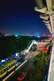 Tunnelbanagångbana Arkivfoto
