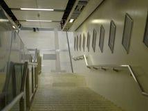 Tunnelbanaingång arkivbilder