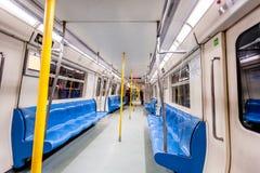 Tunnelbanainre fotografering för bildbyråer