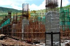 Tunnelbanakonstruktionsarbetsområde Royaltyfri Fotografi