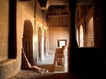 Tunnelbanakyrka i Cappadocia Arkivfoton