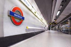 Tunnelbanan i London Arkivbild