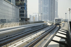 Tunnelbanaspår Fotografering för Bildbyråer