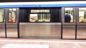 Tunnelbanastaion Arkivbild