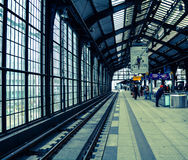 Tunnelbanastation Royaltyfria Foton