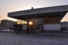 Tunnelbanastation Fotografering för Bildbyråer