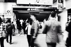 Tunnelbanastation Royaltyfri Bild