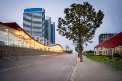 Tunnelbanastation Islamabad Pakistan Arkivfoton