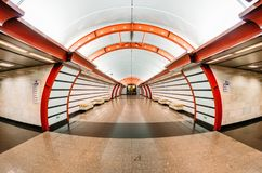 Tunnelbanastationen är den Obvodny kanalen för paul peter petersburg för dutchmanflygfästning russia restaurang saint September 0 Arkivbild