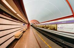 Tunnelbanastationen är den Obvodny kanalen för paul peter petersburg för dutchmanflygfästning russia restaurang saint September 0 Arkivfoton