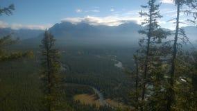 Tunnelberg Banff Stockfotografie