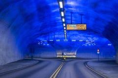 Tunnelkarusell i Norge Royaltyfri Fotografi