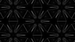 Tunnelrörelseeffekter med Diamond Structures Royaltyfri Foto