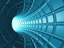 tunnelrengöringsduk royaltyfri illustrationer