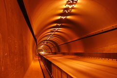 Tunnels. One of the best tunnels Royalty Free Stock Photography