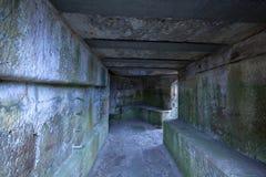 Tunnels souterrains antiques photo libre de droits