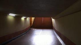 Tunnels, Underpass, Pedestrian, Walking. Stock video of pedestrian tunnels stock video footage