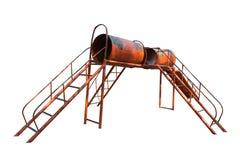 Tunnels van kinderenspeelplaats Stock Fotografie