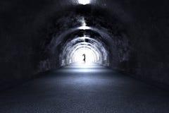 Tunnelspöke Arkivbild
