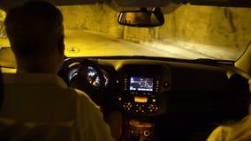 Tunnelspiral eller Spiralen i Drammen, Norge arkivfilmer