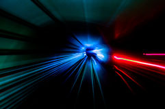 Tunnelstrimmor Arkivbild