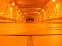 tunneltunnelbana Arkivfoto