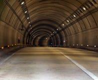 Tunnelväg Arkivbild