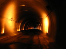 tunnelvision Arkivfoton