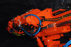 Tunner borer stock image