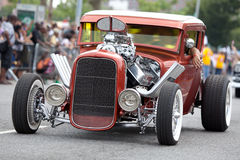 Tunning bil arkivfoton