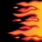 Tunning ogień Zdjęcia Royalty Free