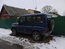 Tunning UAZ-Auto Lizenzfreie Stockfotografie