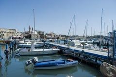 tunnlandakkoisrael port royaltyfri fotografi