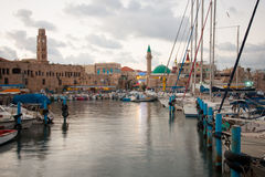 Tunnlandfiskehamn Royaltyfri Bild