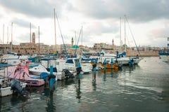 Tunnlandfiskehamn Royaltyfria Bilder