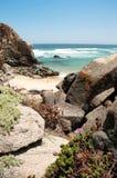 Tunquen海滩 免版税库存图片