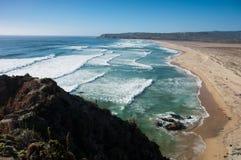 chile, Tunquen beach Royalty Free Stock Photos